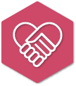 handshake icon displaying a guaranteed house sale from Vivo Property Buyers