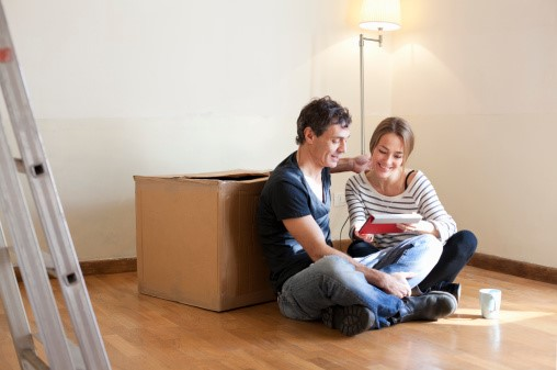Couple moving out day after stopping house repossession