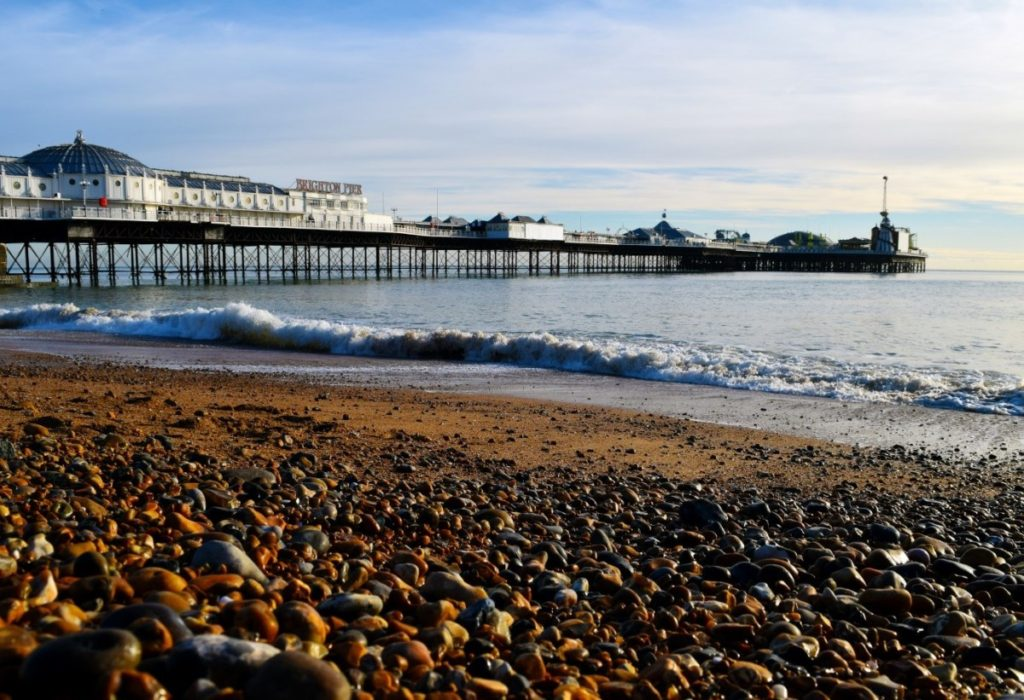 London Commuter Towns: Brighton seaside in East Sussex