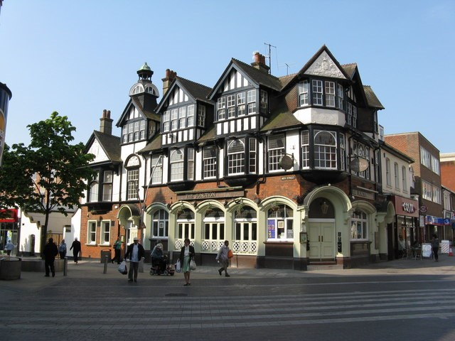 Redhill, A commuter town in surrey