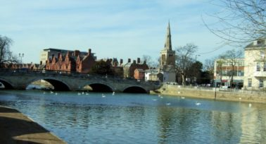 View of Bedford: Bedfordshire's best commuter town