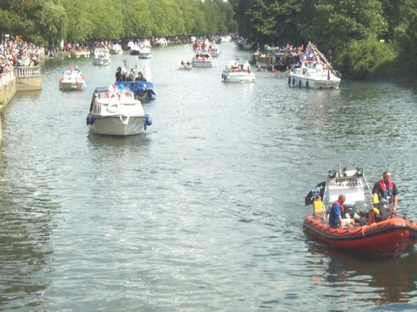 Bedford River Festival is enjoyed by commuters who live in Bedford