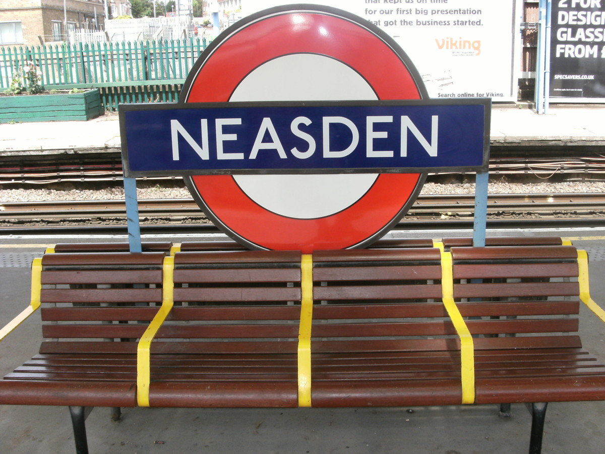 Neasden has great transport links
