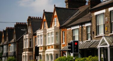 Rooftops of houses to depict cash house buyers